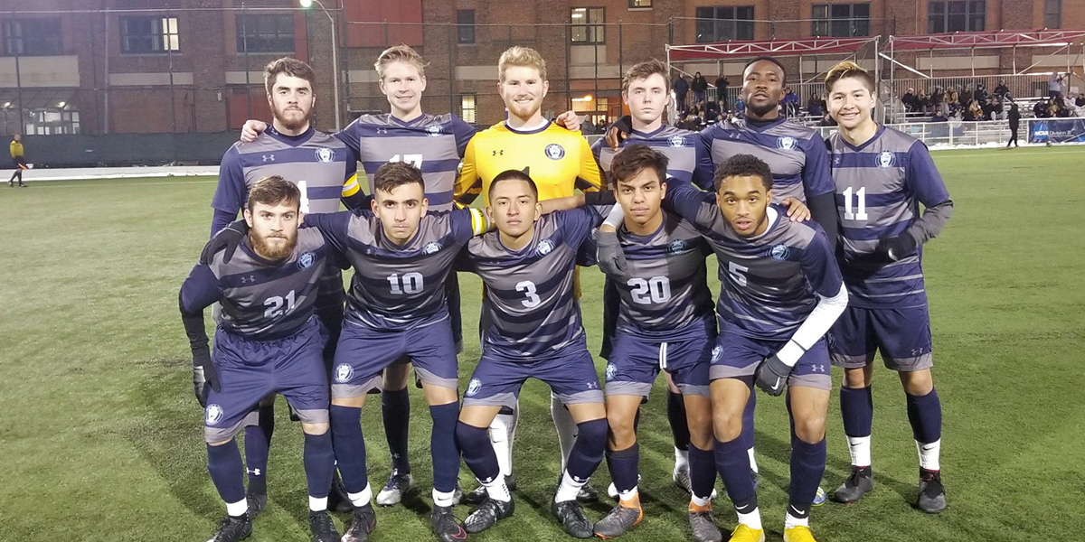 Men's soccer puts up strong fight against Drew in ECAC Semifinals