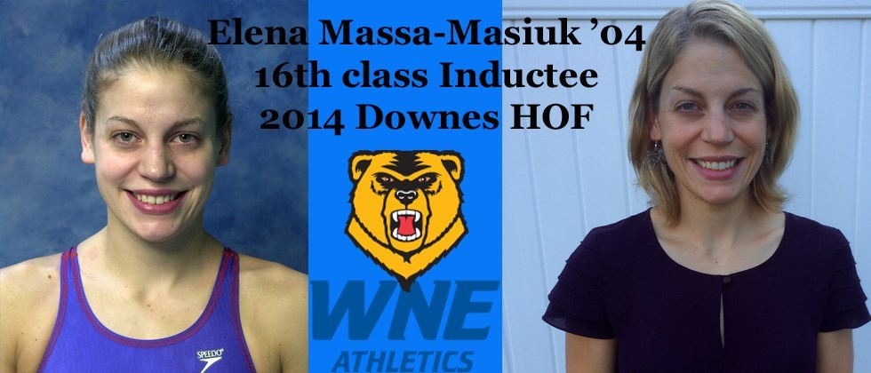 Golden Bears Feature Story on 2014 Downes Hall of Famer Elena Massa-Masiuk �??04