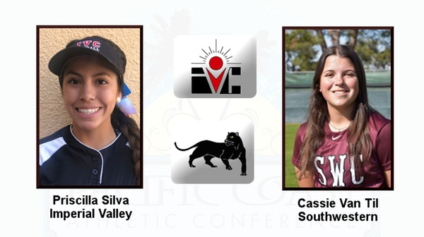 Imperial Valley's Silva, Southwestern's Van Til share Athlete of the Week honors