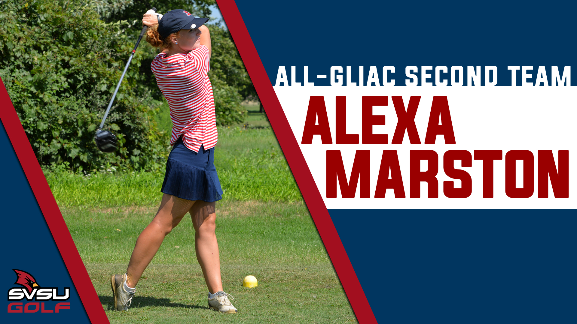 Alexa Marston earns Women's Golf All-GLIAC Second Team Honors