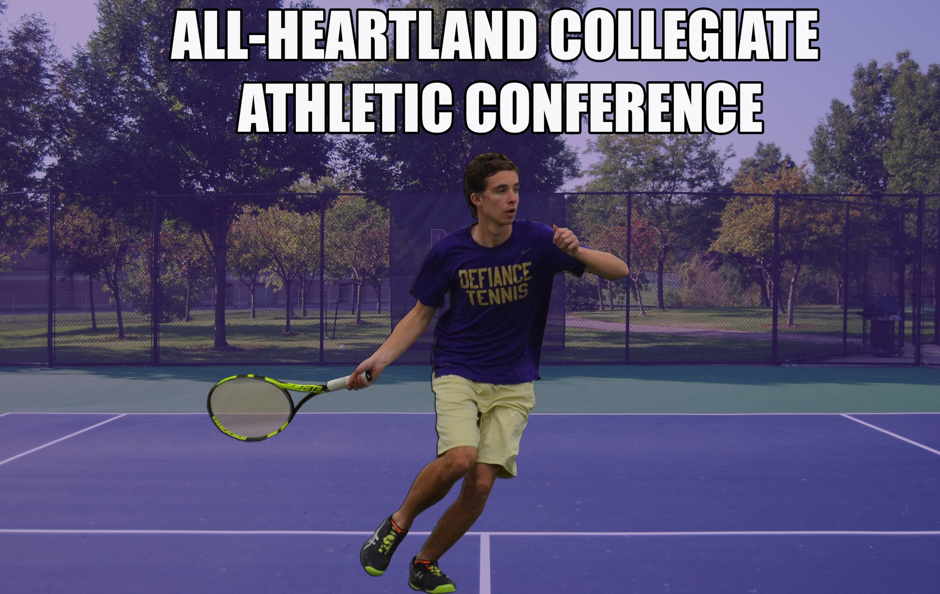 Harris Headlines All-HCAC Honors