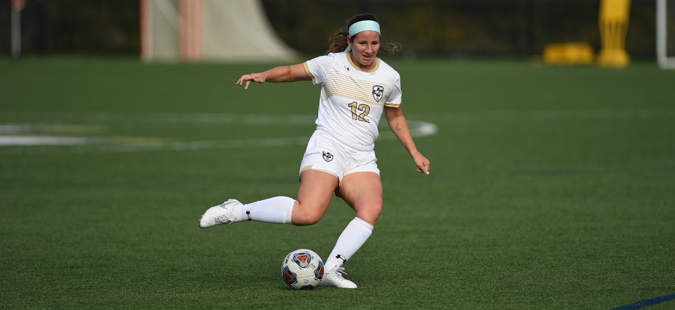 Emma Moreland assisted both goals in the Eagles, 2-1 win over Penn College.