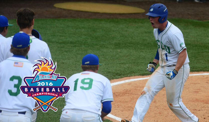 Fehribach's Late Heroics Lead FGCU to #ASUNBSB Championship Final