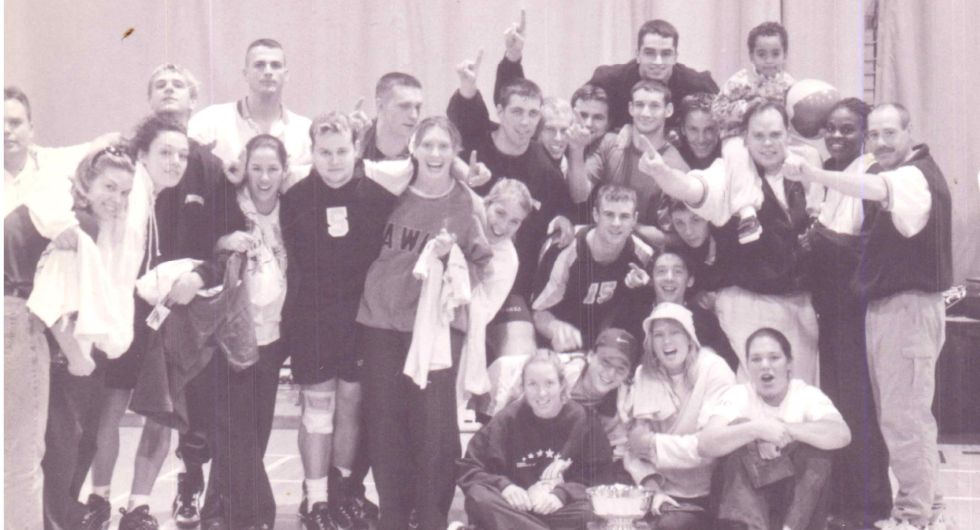 FROM THE ARCHIVES: 1998 OCAA WOMEN'S VOLLEYBALL CHAMPIONS