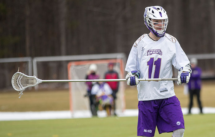 Men's Lacrosse Falls at Regionally-Regarded Assumption