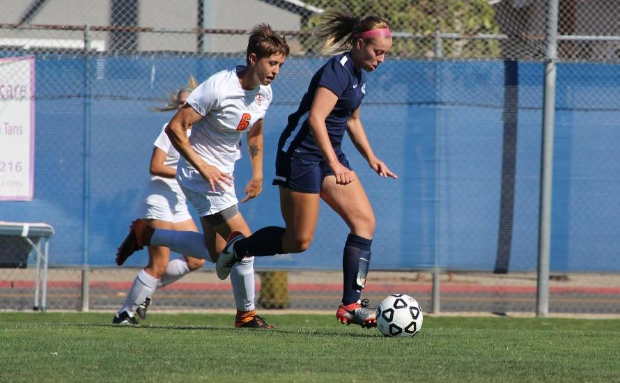 Chargers Tie Orange Coast at Home