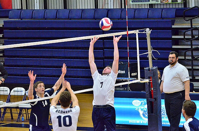 Men's Volleyball Downs Illinois Tech