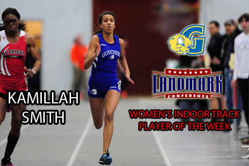 Smith Named Landmark Indoor Track Player of the Week