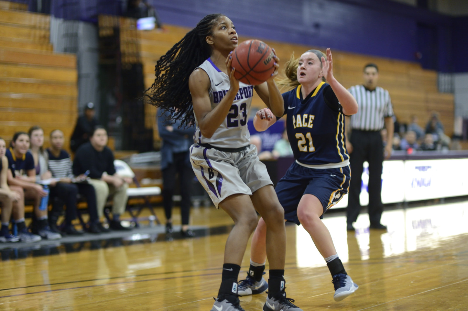 Three Players Notch Double-Doubles As UB Women Stop UDC, 76-56