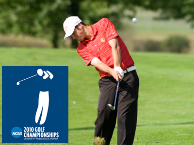 Ferris State begins NCAA Division II Men's Golf Championship play this Tuesday (May 18) in Indiana.  (Photo by Ed Hyde)