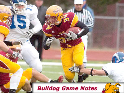 Football Game Notes: Hillsdale (Sept. 3)