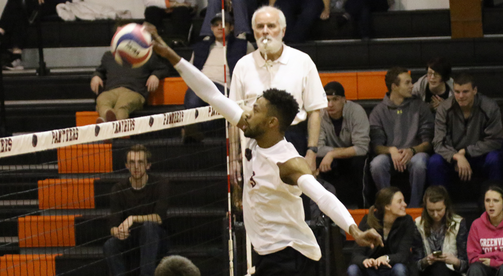 Men's volleyball slowed against Dominican