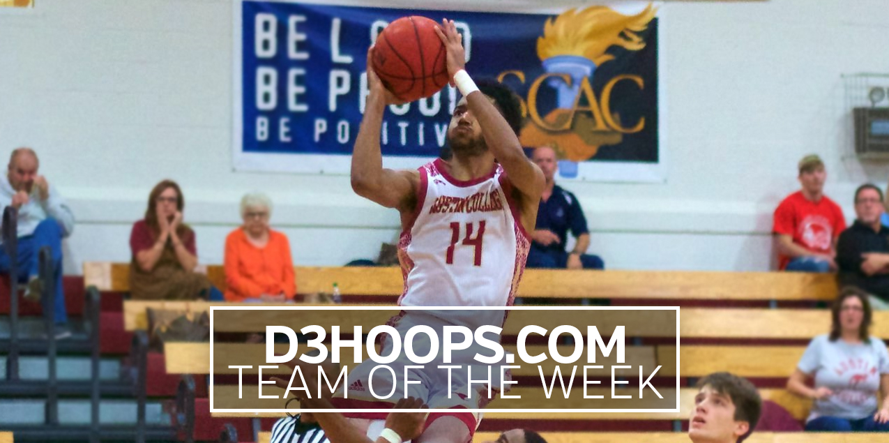 Austin College's Mercadel Named to D3Hoops.com Team of the Week