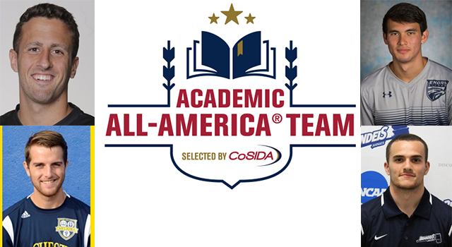 Four UAA Men's Soccer Student-Athletes Named to CoSIDA Academic All-America Teams