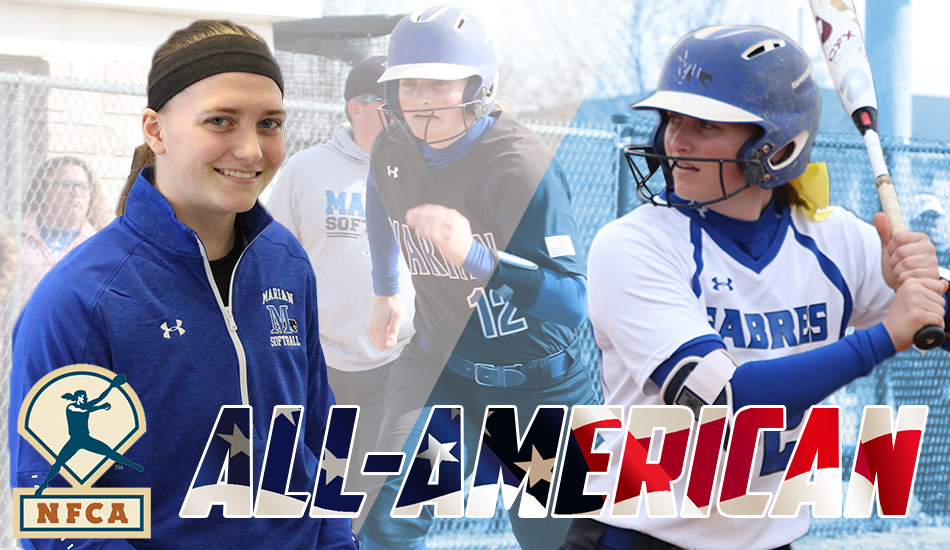 Ally Fox All-American graphic.