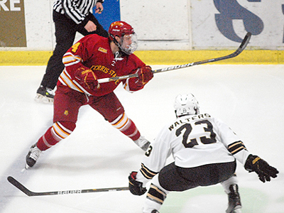 Billins Tabbed As CCHA Scholar-Athlete Of Year