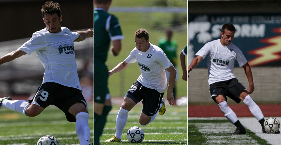 Storm trio tabbed for All-Ohio squad