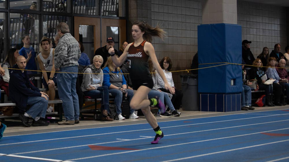 Women's track and field led by pair of wins by Sharp and Rodriguez