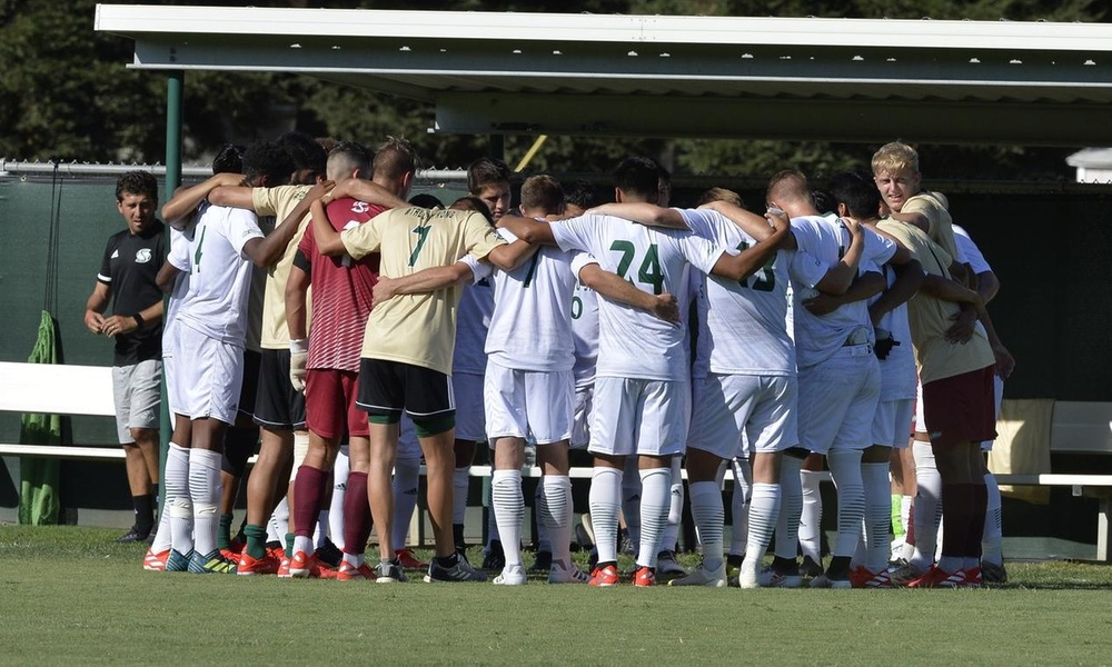 MEN'S SOCCER FALLS ON THE ROAD IN BIG WEST OPENER, 2-0, AT UC SANTA BARBARA