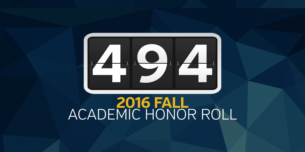 SCAC Has 494 Student-Athletes Earn Academic Honor Roll Honors