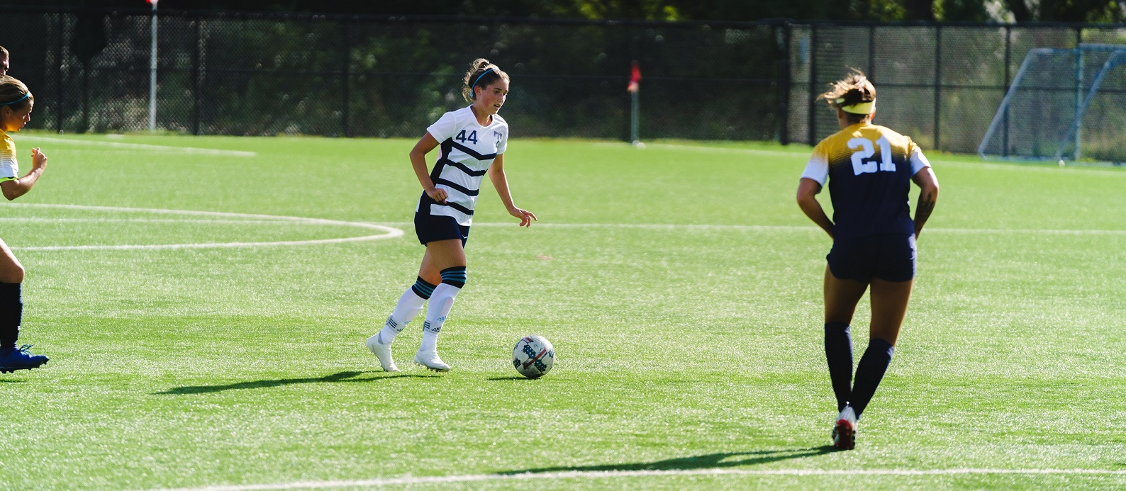 Hopkins scores two to help beat Fighting Saints