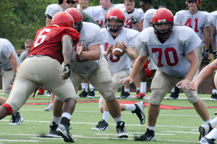Offensive line beginning to come together for Huntingdon
