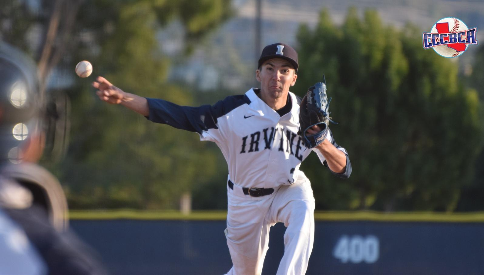 Pitcher Noah Bradford named first team CCCBCA All-So. Cal.