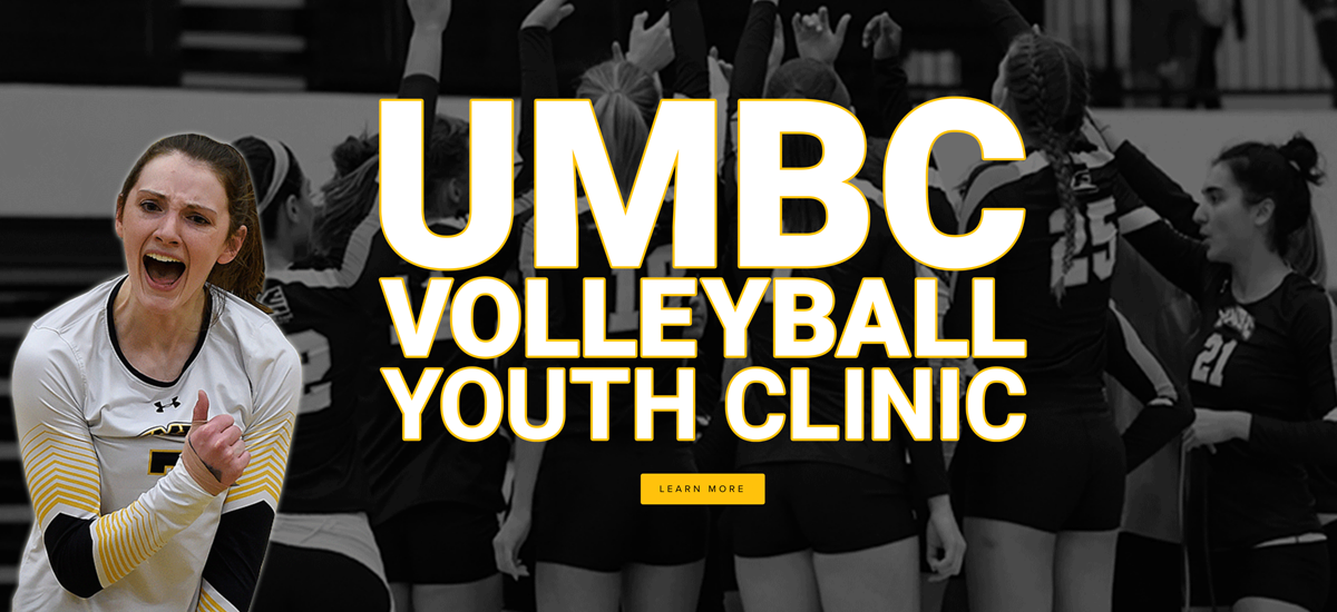 UMBC Volleyball to Hold Youth Clinic and Open Scrimmage