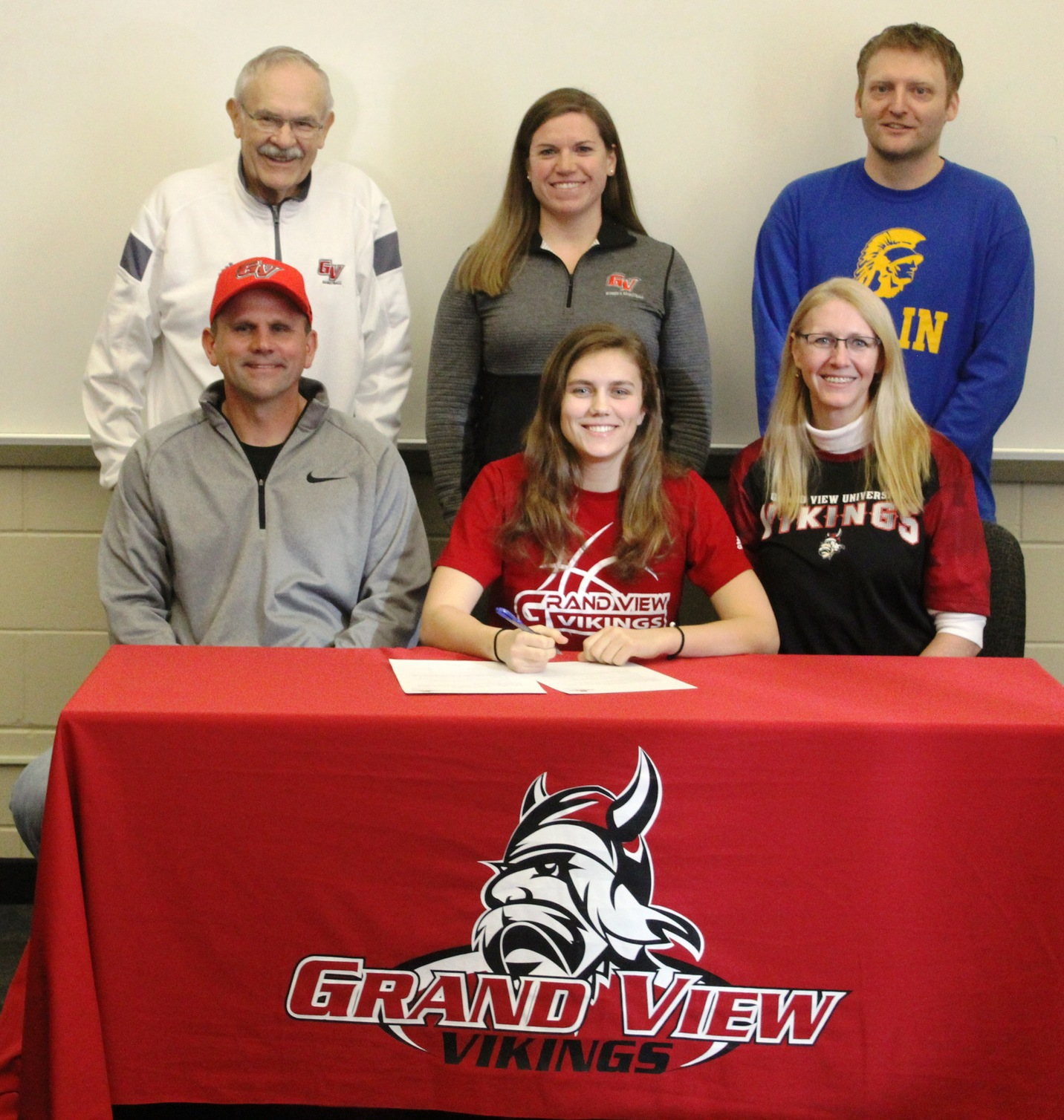 NIACC's Kelsie Willert signs letter of intent to play basketball next season at Grand View University.