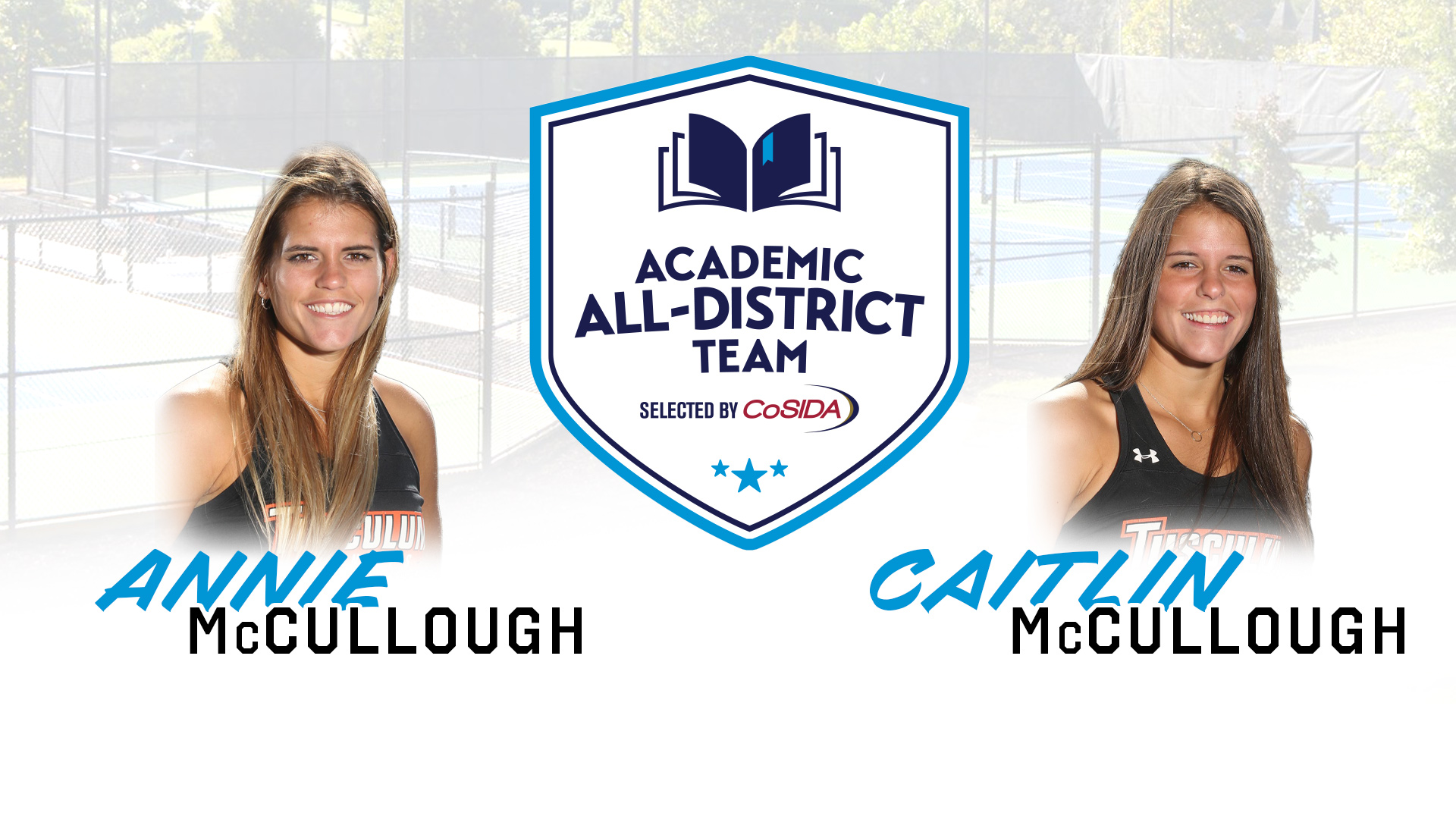 McCullough sisters named to Academic All-District team