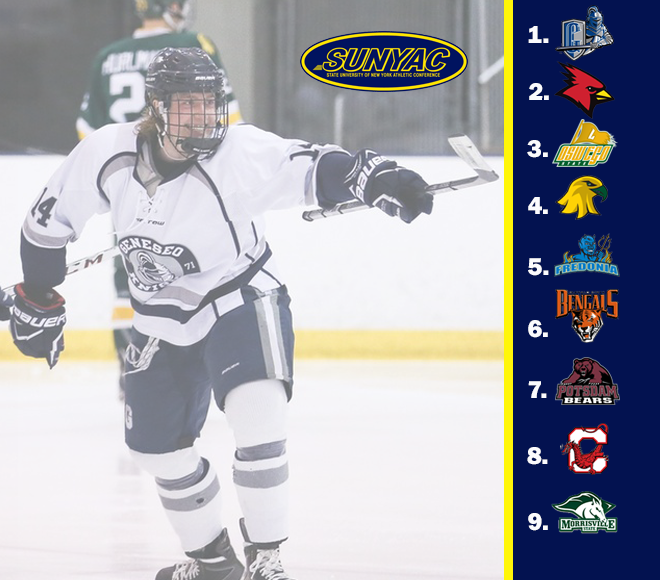 Geneseo tops SUNYAC men's ice hockey preseason poll