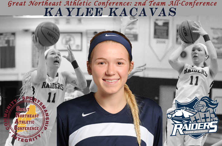 Women's Basketball: Kaylee Kacavas named 2nd Team All-GNAC
