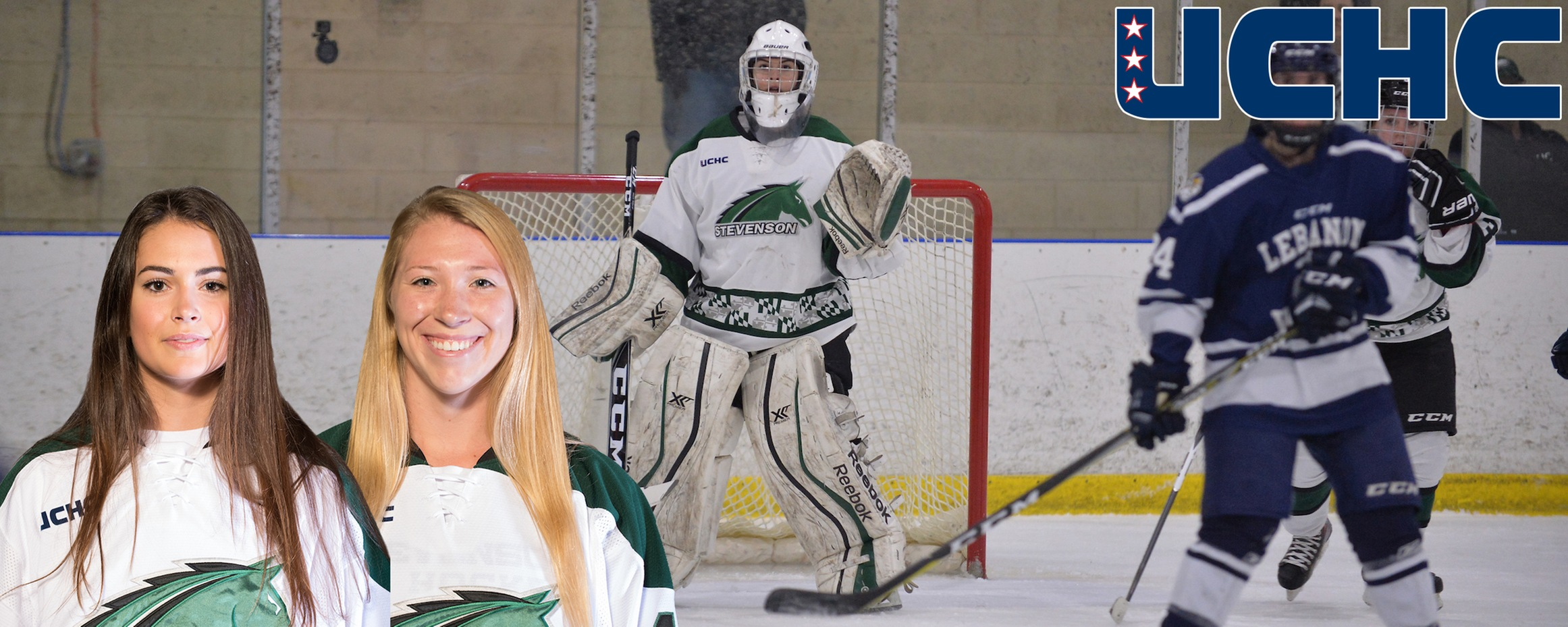 Ellis, Darosa Named UCHC Player, Goalie of the Week