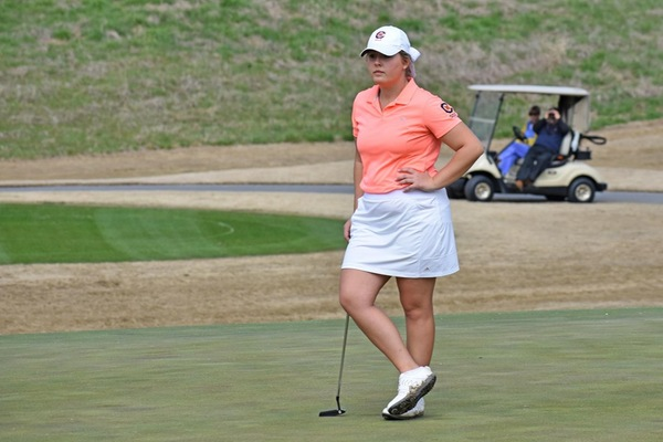 Two Eagles improve as No. 25 C-N stays tied for fifth at Bobby Nichols Intercollegiate