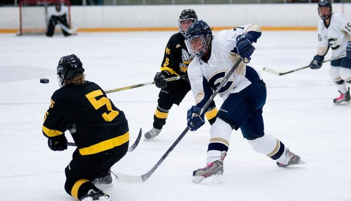Blugolds and Falcons Play to Another Tie