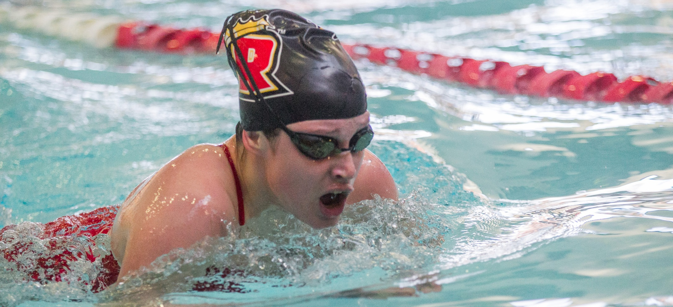 Men's & Women's Swimming & Diving Both Second After First Day of GNAC Championships