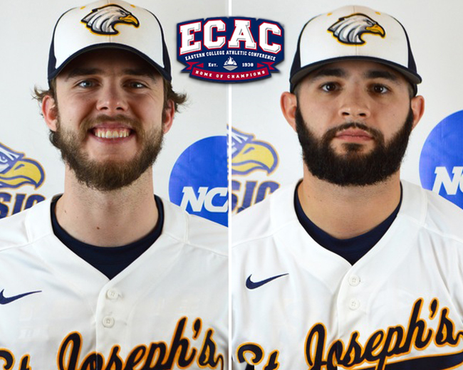 Baseball's Woodford and Nakashian Pick Up All-ECAC Honors