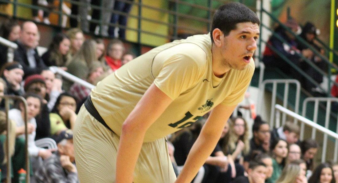 Tristan Popa scored six points in Tiffin's 80-55 loss to Ferris State University.