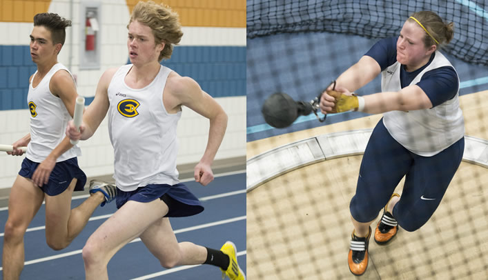 Blugold Indoor Track & Field Teams Compete at UWSP Last Chance Meet