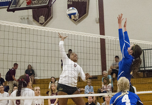 Volleyball: Cadets Net Straight-Set Road Victory