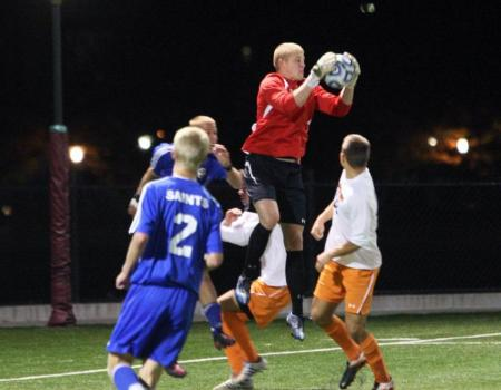 No. 5 Men's Soccer advances to Second Round of Division III Tournament