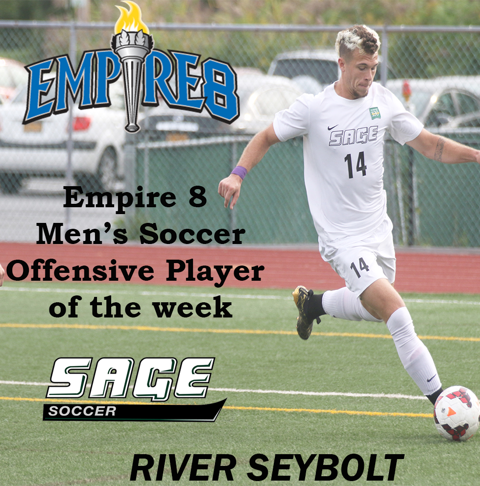 Empire 8 Offensive Men's Soccer Player of the Week status awarded to Seybolt