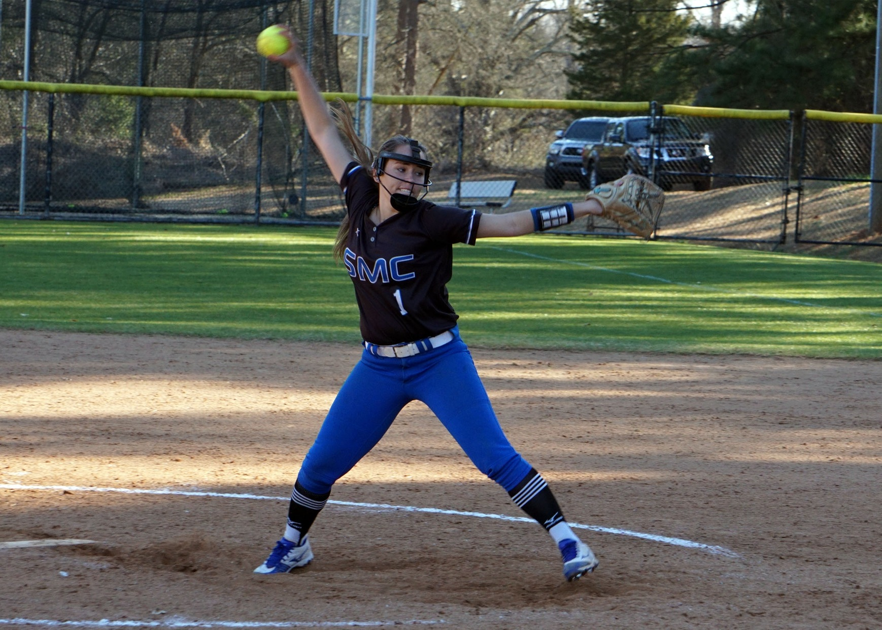 Softball Dominates in Season Opener