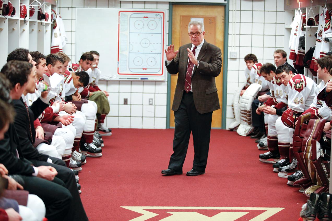 Men's Hockey: McShane named finalist for Ed Jeremiah Award; National D-III Coach of the Year