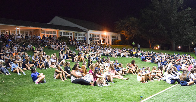 Moravian Welcomes Back Student-Athletes with Annual SAAC Kickoff