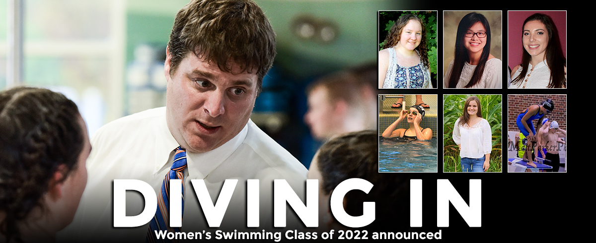 Women's Swimming Class of 2022 Announced
