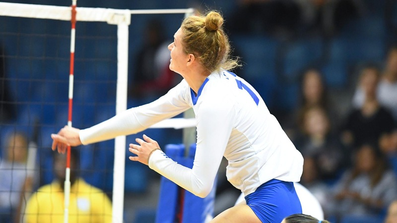 Volleyball Splits Matches Friday at UConn Challenge