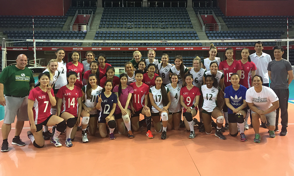 VOLLEYBALL'S TRIP TO CHINA CONTINUES; DAY 5 PLAYER BLOGS