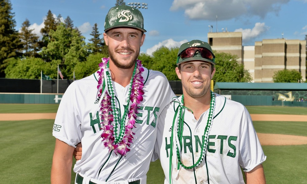 ON SENIOR DAY, BASEBALL SWEEPS DOUBLEHEADER, GUARANTEES AT LEAST NO. 3 SEED IN WAC TOURNAMENT