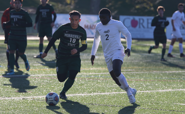 Men's Soccer Falls in NEAC Championship Game